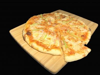 Пицца С курочкой и ананасами